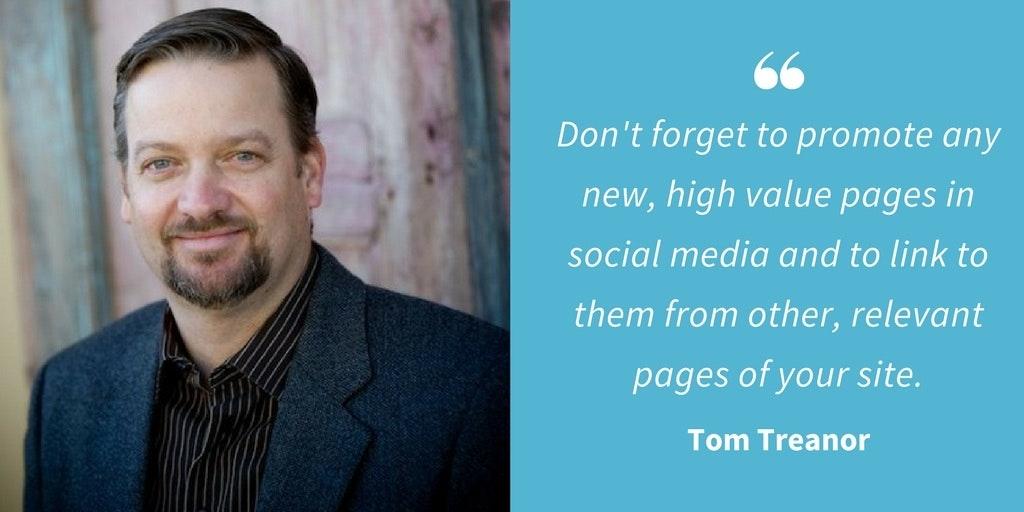 SEO Quotes - Tom Treanor