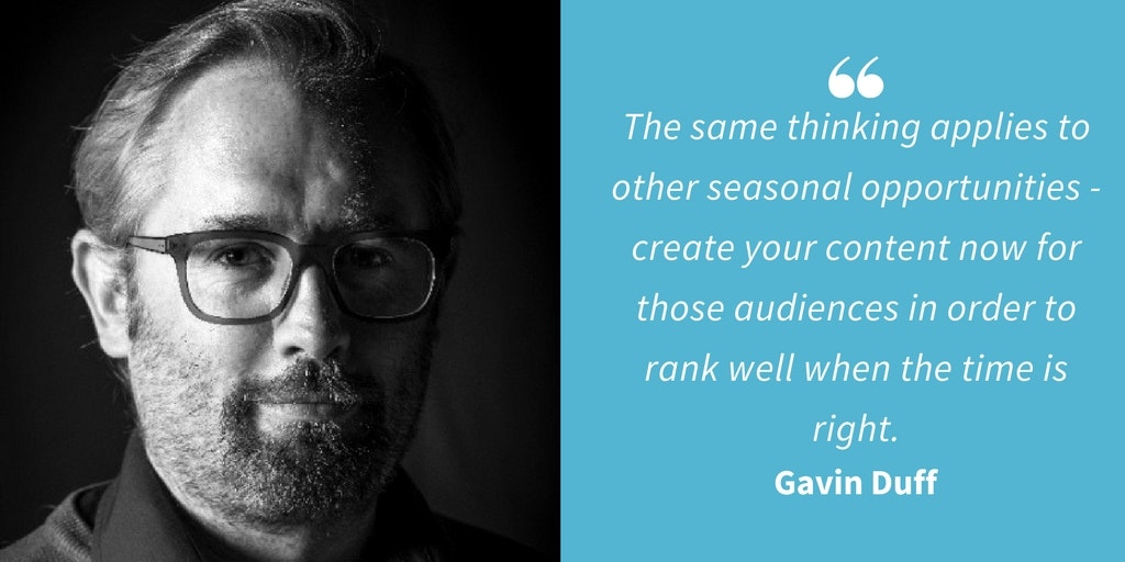 SEO Quotes - Gavin Duff