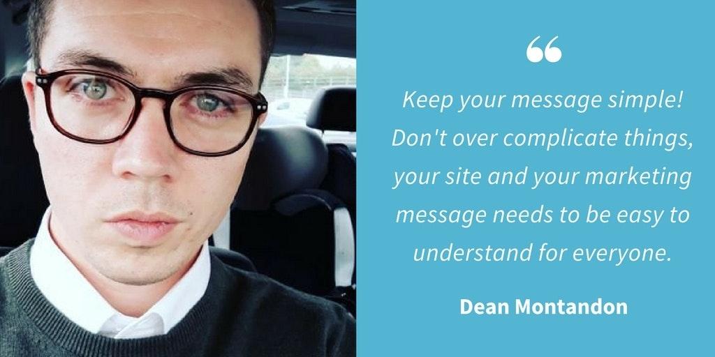 Marketing Quotes - Dean Montandon