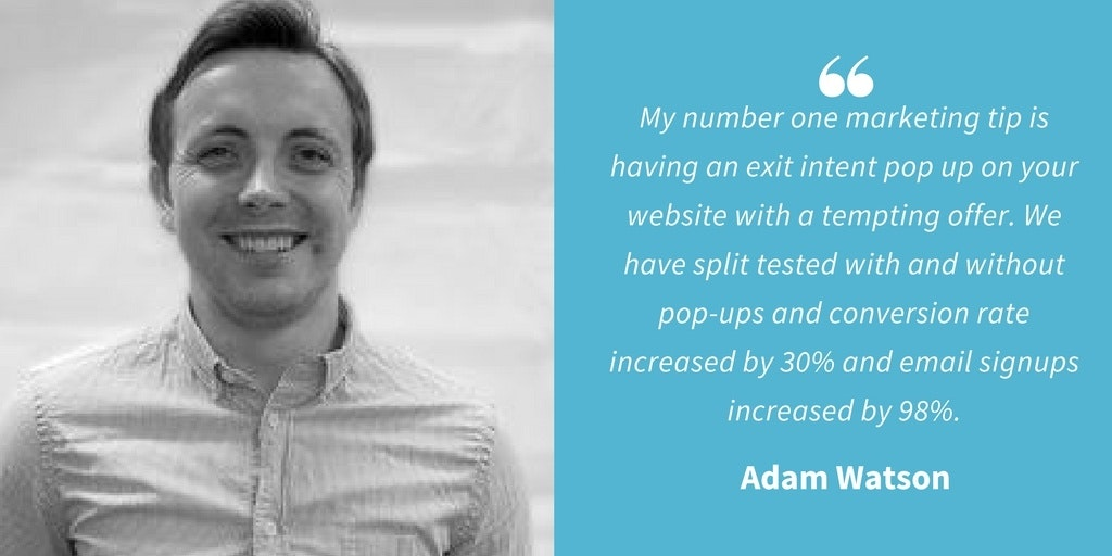 Marketing Quotes - Adam Watson