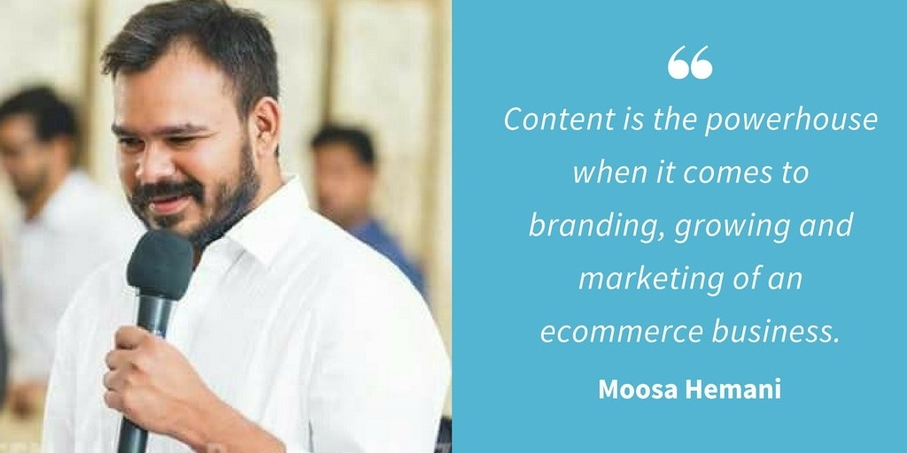 Marketing Quotes - Moosa Hemani