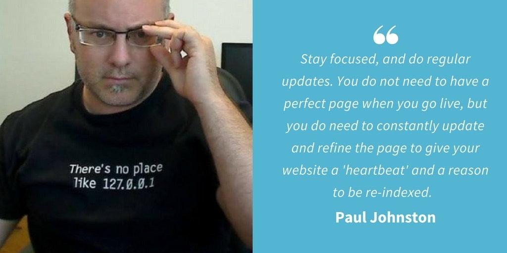 Marketing Quotes - Paul Johnston