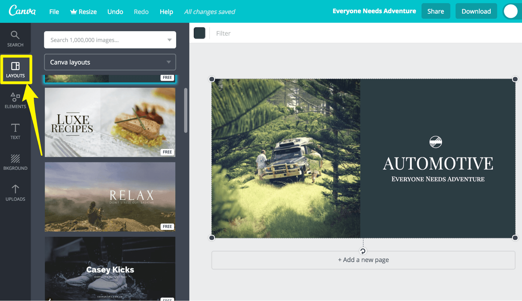 Canva Design Options