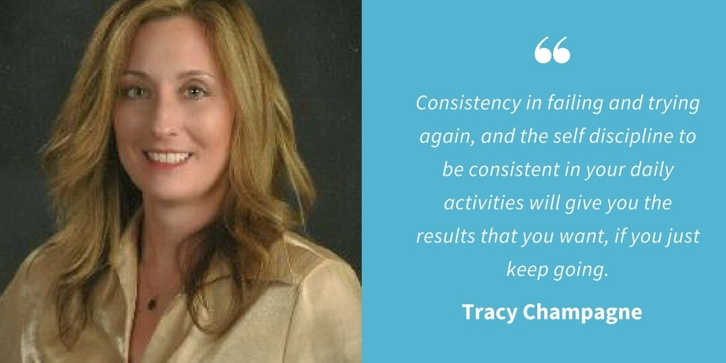 Inspirational Quotes - Tracy Champagne