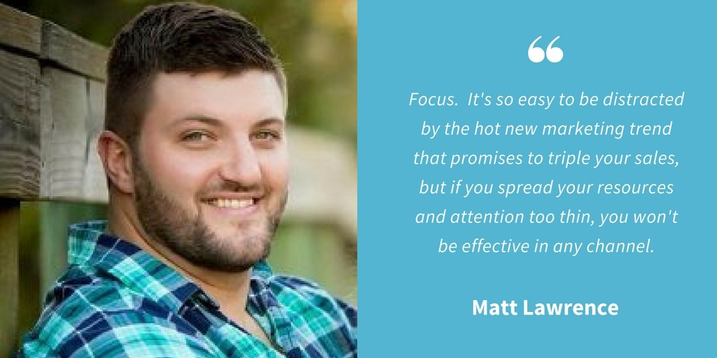 Inspirational Quotes - Matt Lawrence