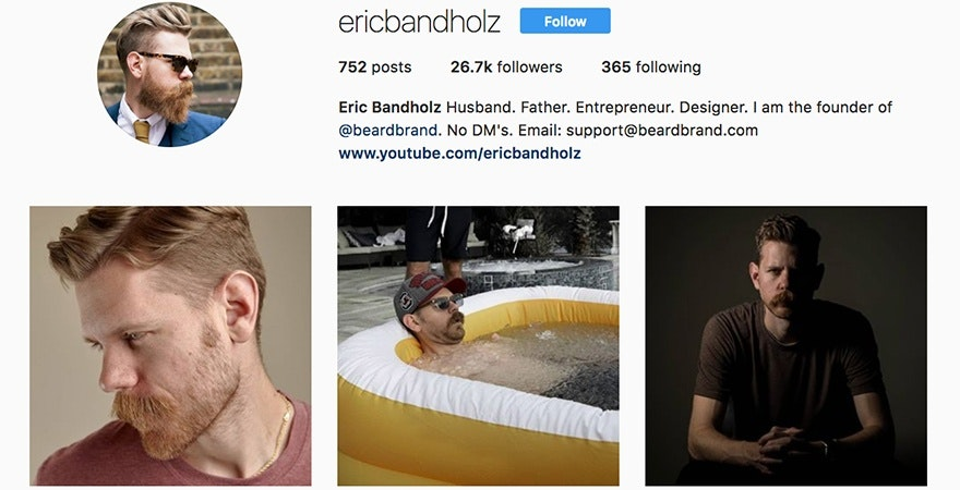 Eric Bandholz - Branding yourself