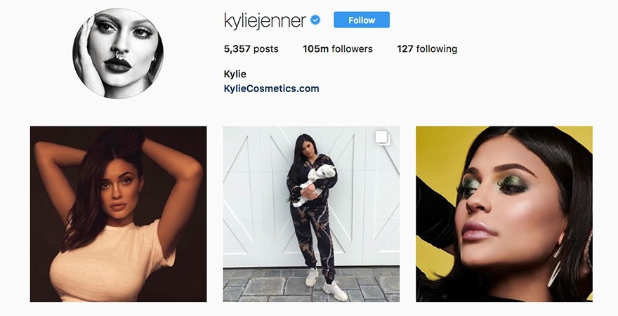 Kylie Jenner - Personal Branding