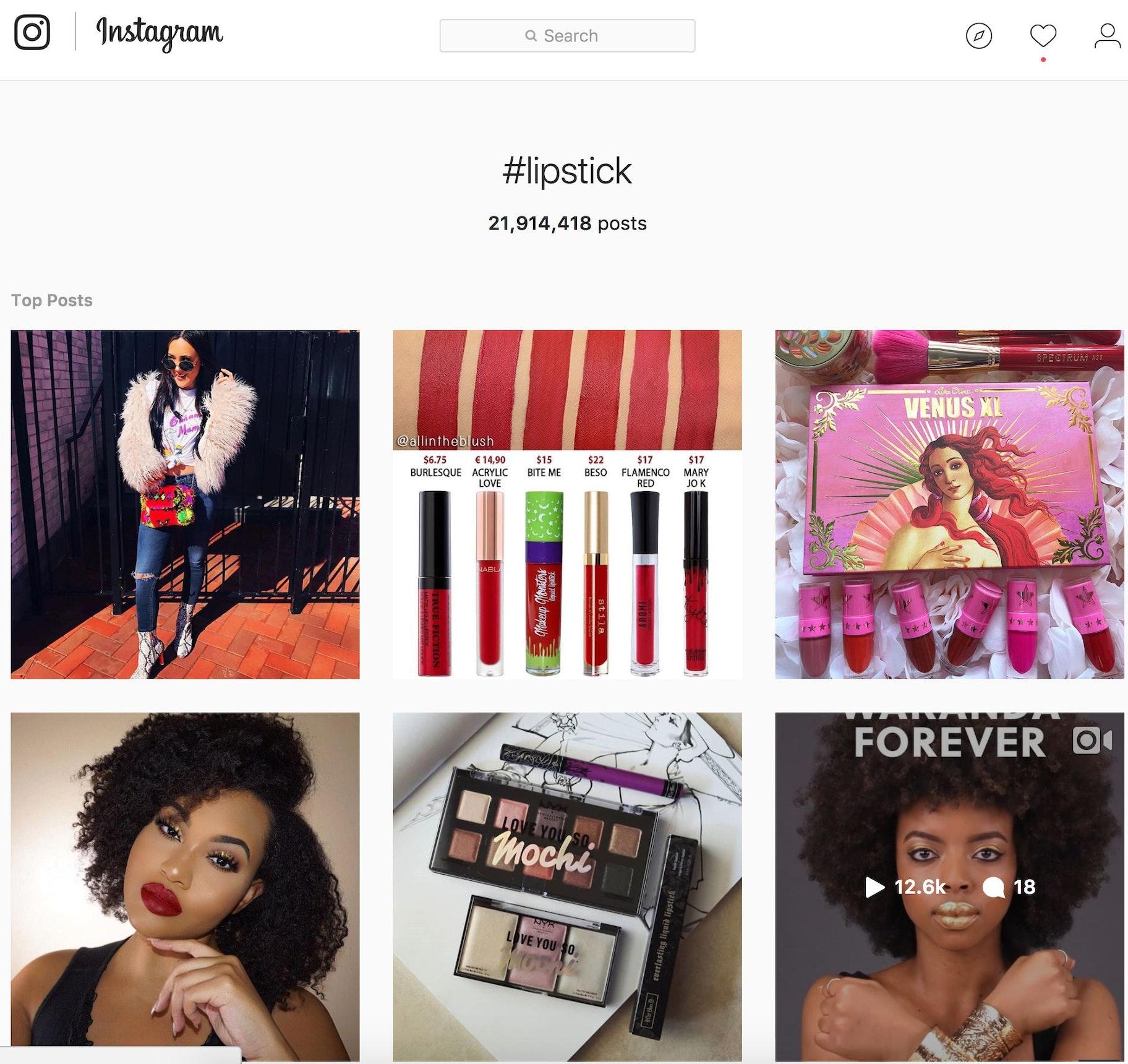 Instagram viral marketing examples