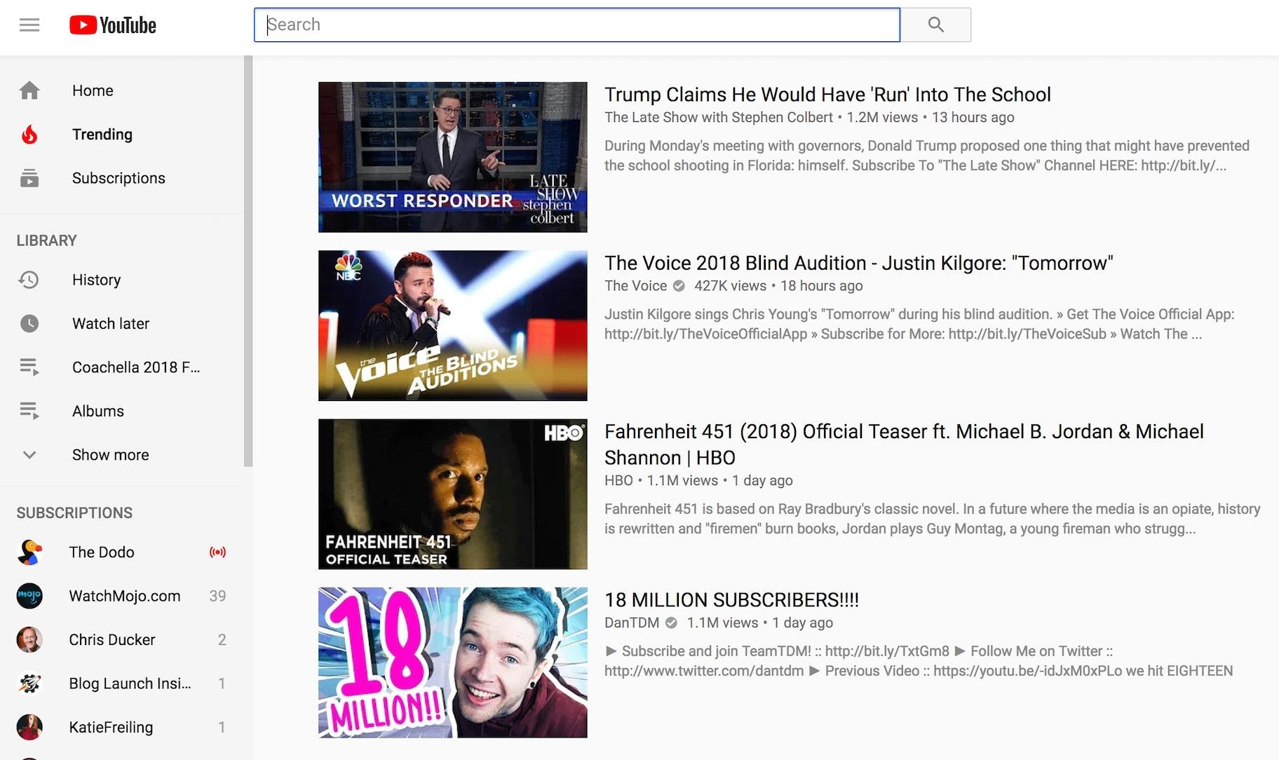 Viral Marketing Example YouTube