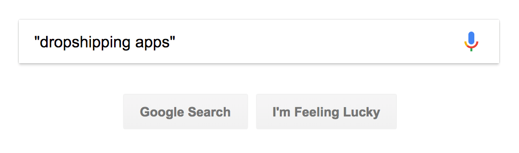 Exact search in Google