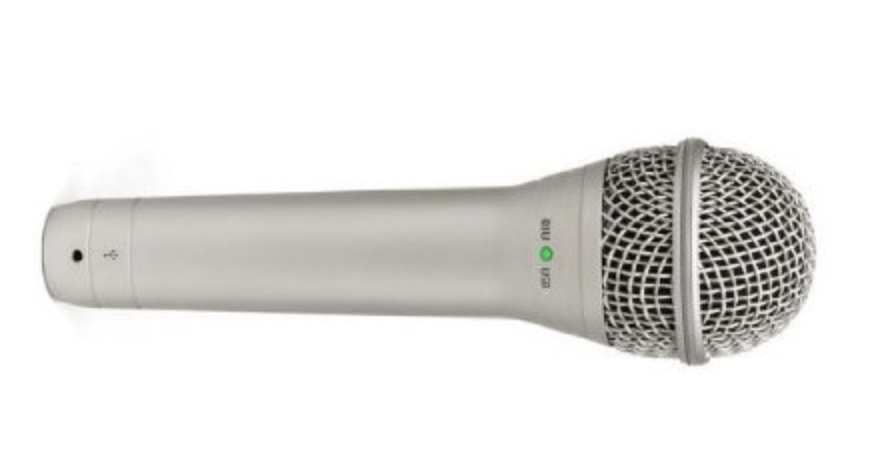 podcast equipment - microphone