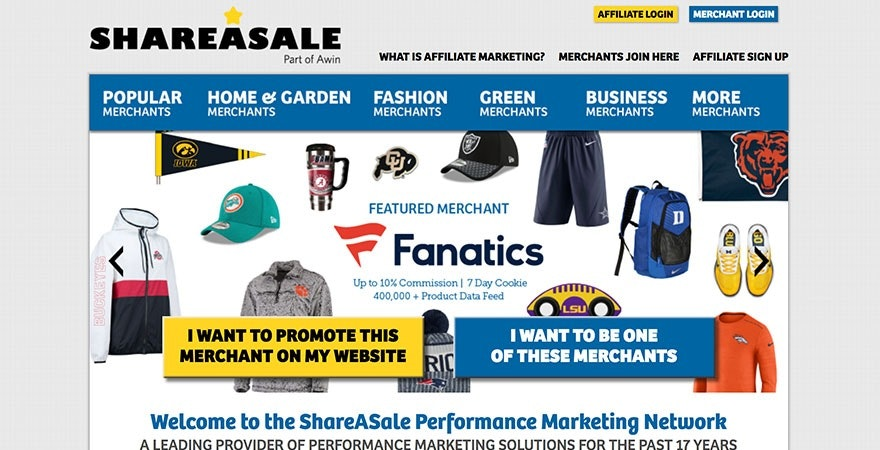 ShareASale: Affiliate Marketing Program Provider