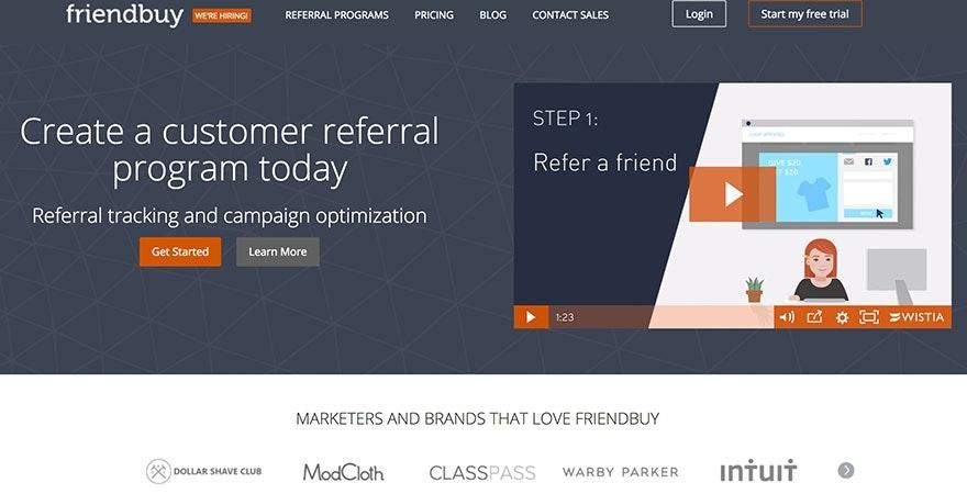 FriendBuy: Customer Referral Program