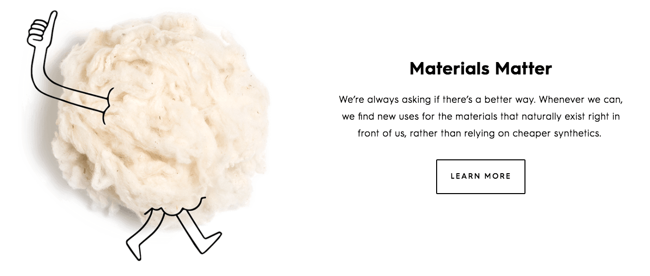 Allbirds responsible material sourcing