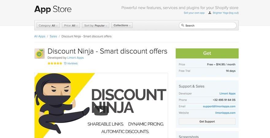 Discount Ninja