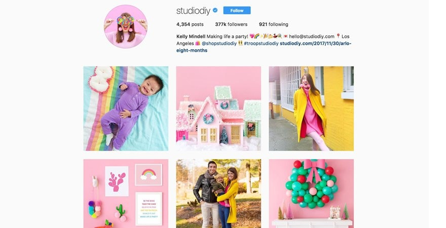 Instagram - Studio DIY
