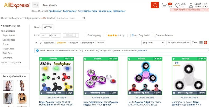 ecommerce tip - Find popular niche