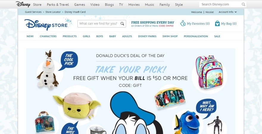 Personalize online store experience