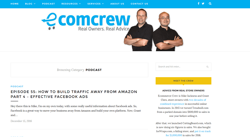 ecommerce resources ecomcrew