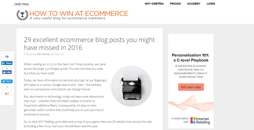 ecommerce resources