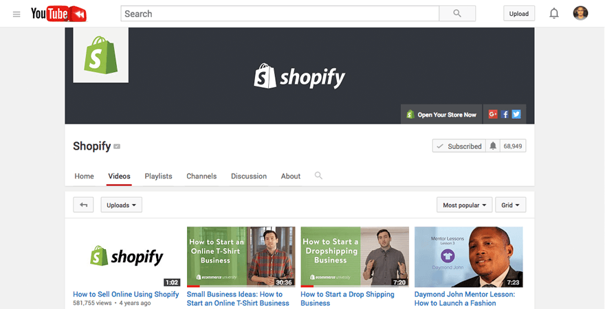 shopify-youtube