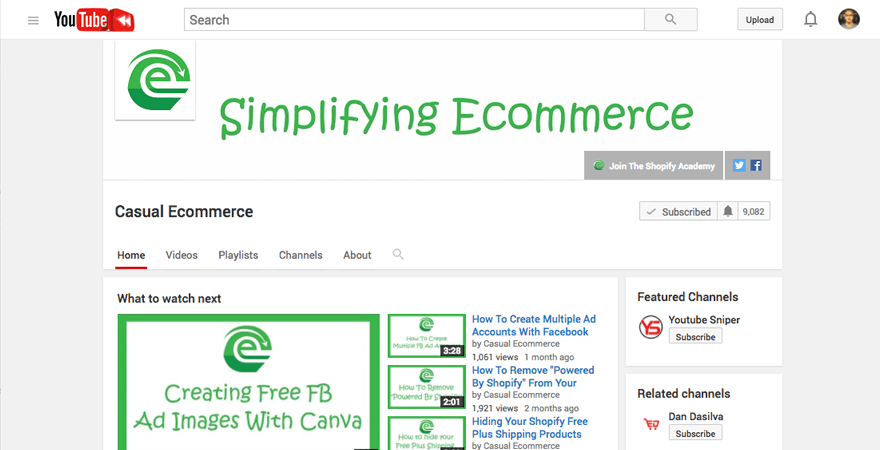 ecommerce-youtube