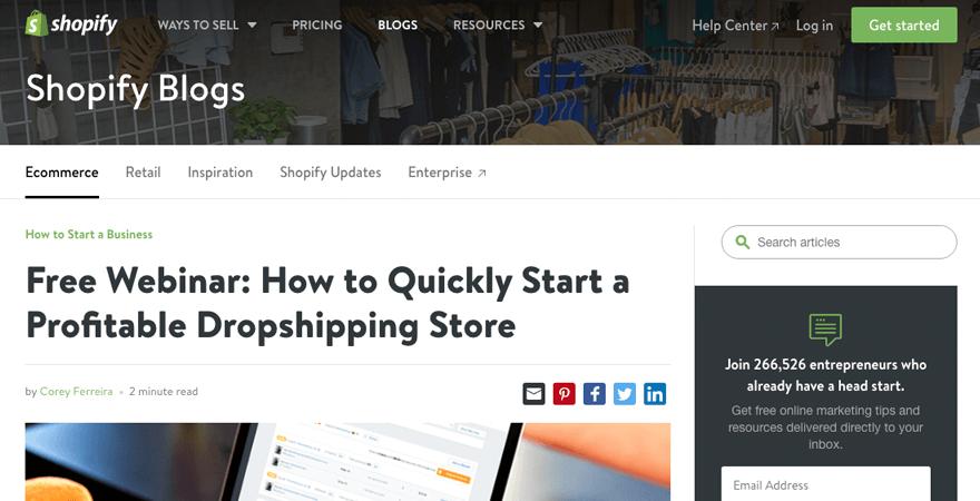 free-webinar-shopify