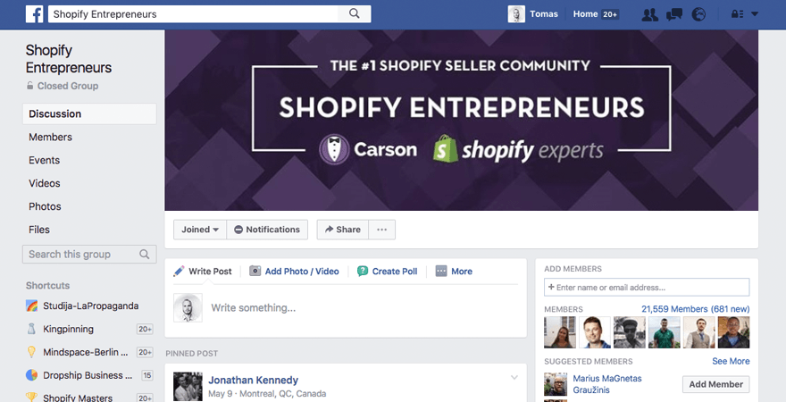 forum-shopify-entrepreneurs