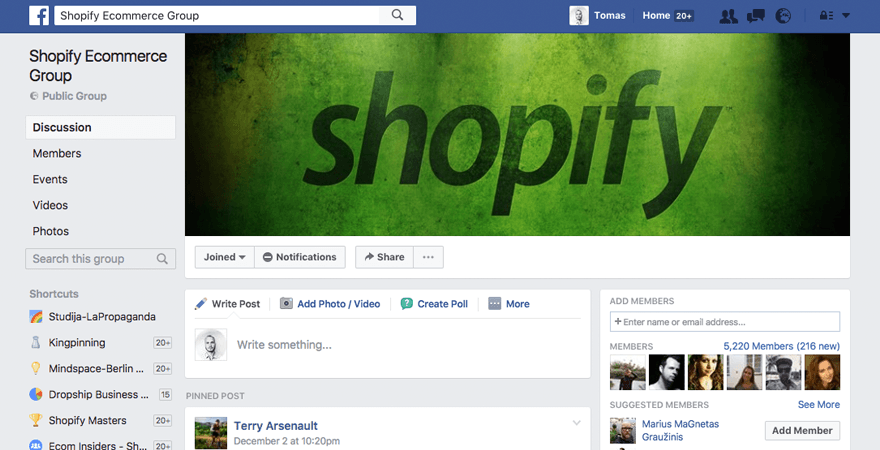 forum-shopify-group