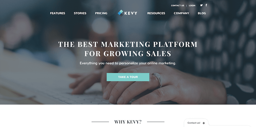 Email Marketing Platforms: Kevy