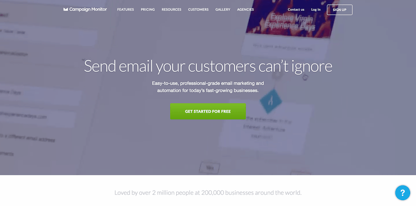 Email Marketing Platforms: Campaign Monitor
