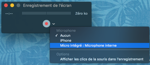 comment faire une capture video sur mac