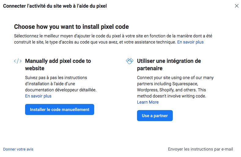 Comment installer le pixel Facebook