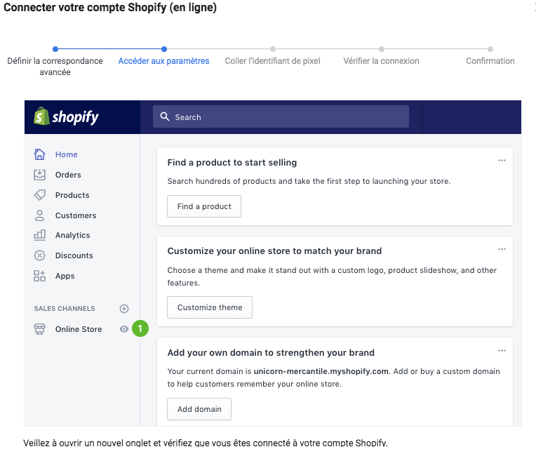 Comment installer le code pixel Facebook sur Shopify