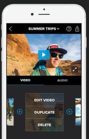 Splice app montage gratuit