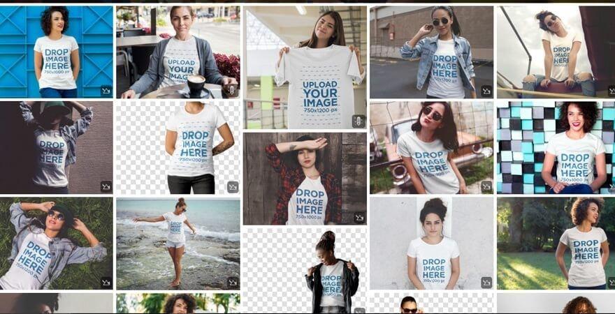 mockup T-shirt PSD