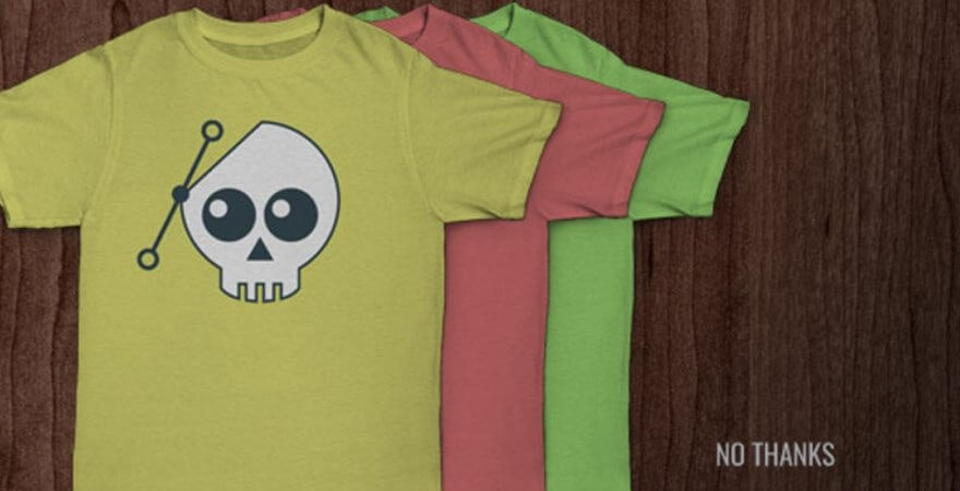 maquettes T-shirt personnalisé
