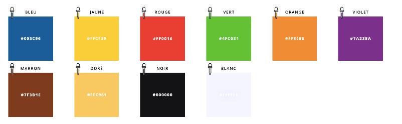 couleur code