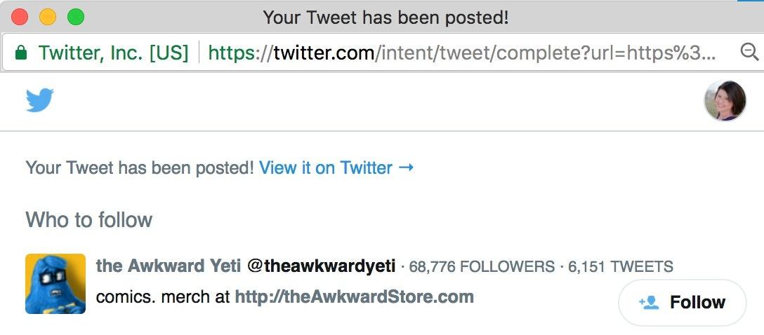 Awkward Yeti - Twitter Followers