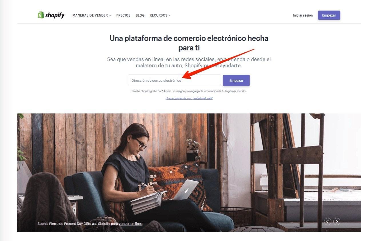 dropshipping con shopify en español