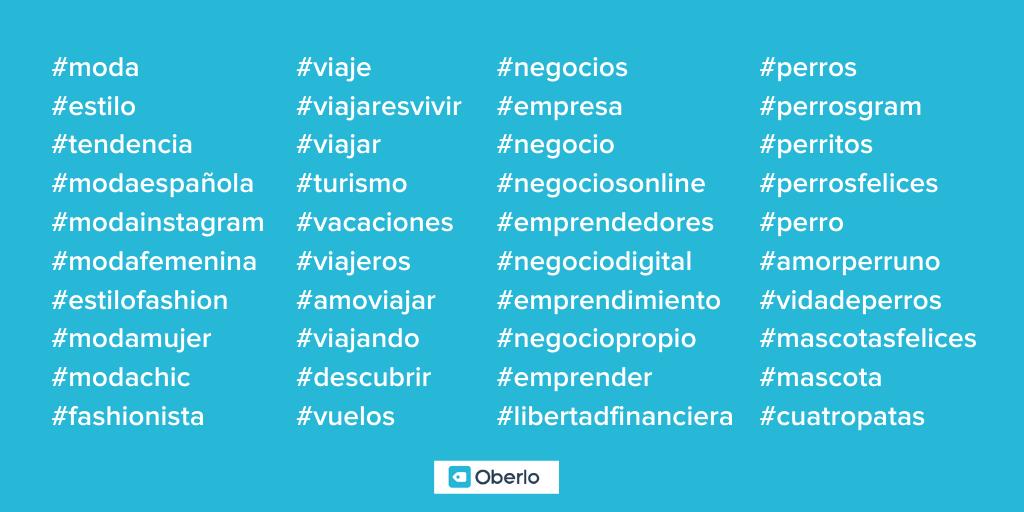Hashtags-instagram-español