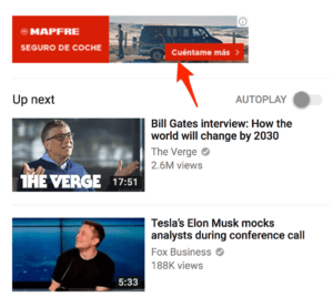 Display YouTube Ad