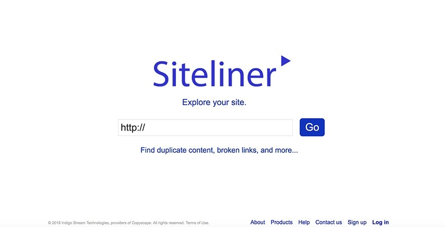 Siteliner - SEO Analysis Tool