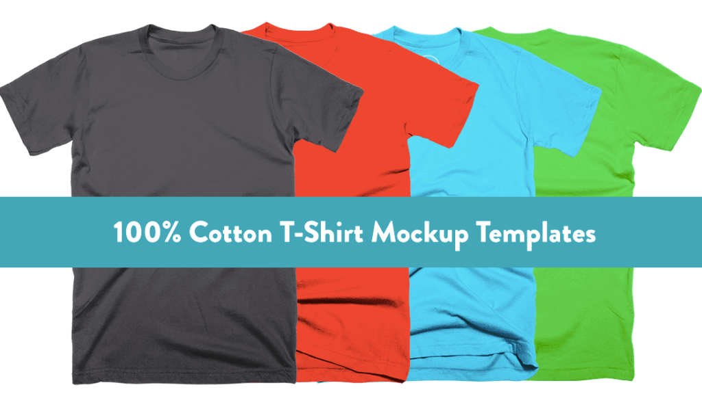 Free T-Shirt Mockup Template - Cotton Bureau