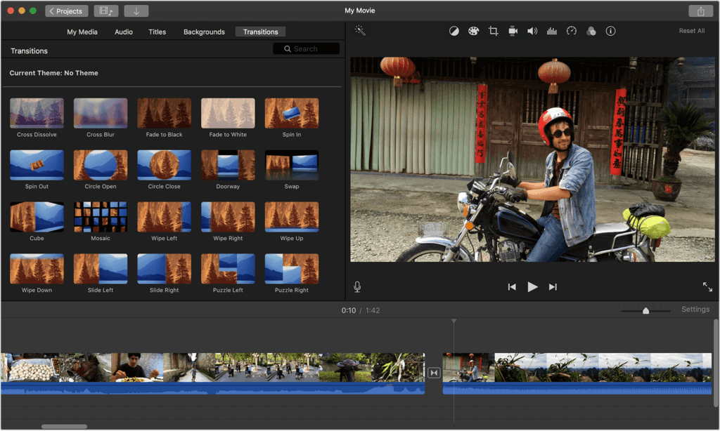 iMovie Video Editing Mac