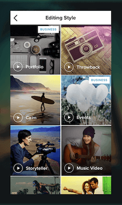 Magisto Instagram Video Editor