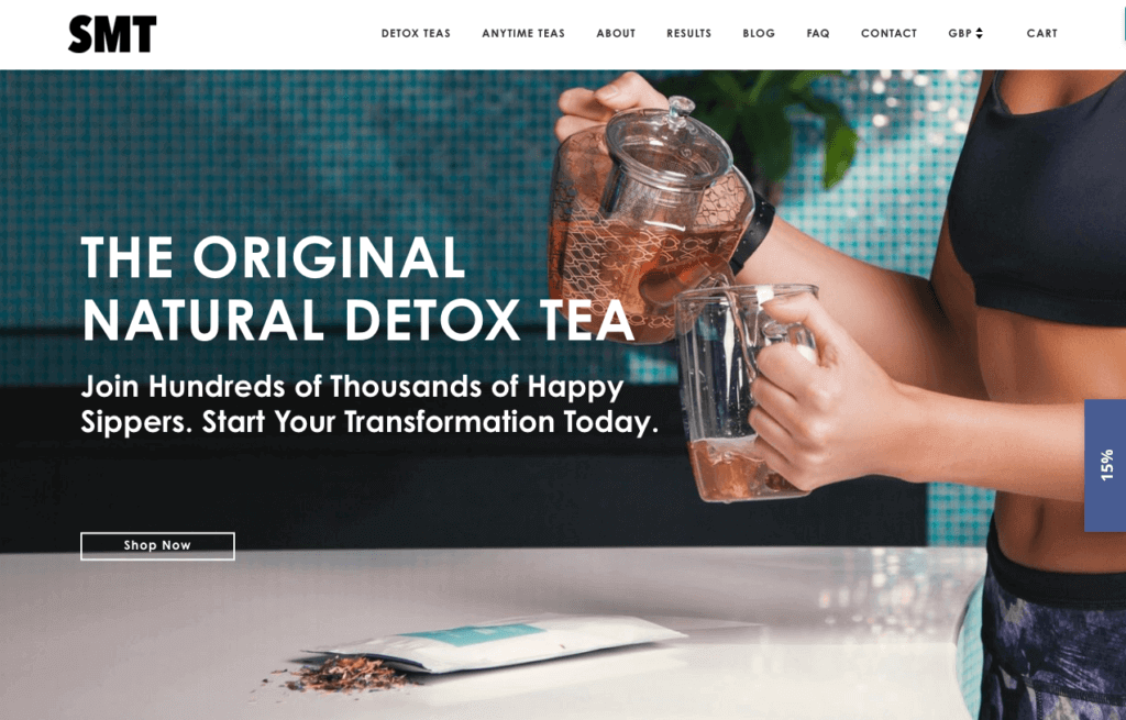 SkinnyMe Tea Online Store