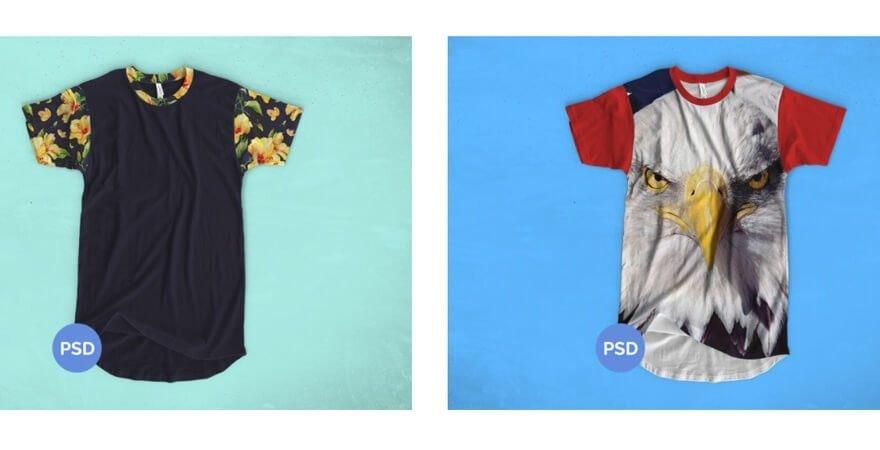 Free T-Shirt Mockups PSD Templates- Michael Hoss