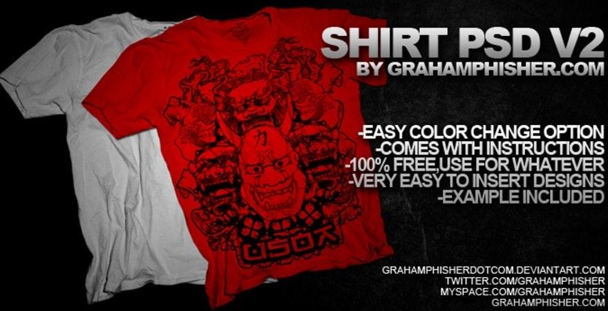 Free T-Shirt Mockup- Deviant Art