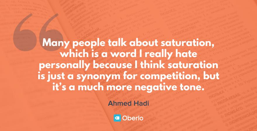 ahmed hadi's dropshipping quote